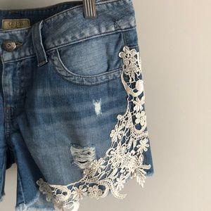 Stunning Guess Jean Shorts